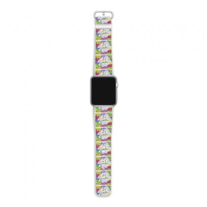 Be Positive Apple Watch Band Designed By Ar.tist_creations