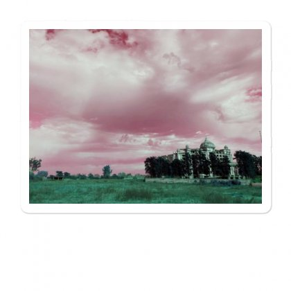 Pink Sky Sticker Designed By Ar.tist_creations