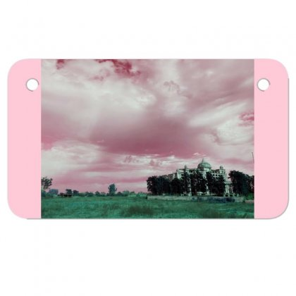 Pink Sky Motorcycle License Plate Designed By Ar.tist_creations