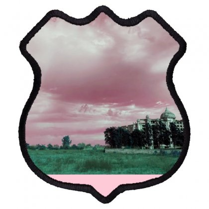 Pink Sky Shield Patch Designed By Ar.tist_creations