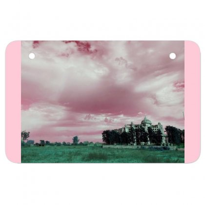 Pink Sky Atv License Plate Designed By Ar.tist_creations