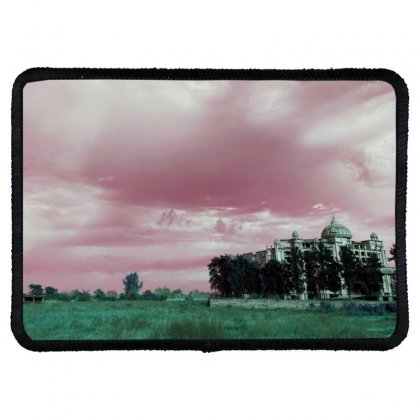Pink Sky Rectangle Patch Designed By Ar.tist_creations