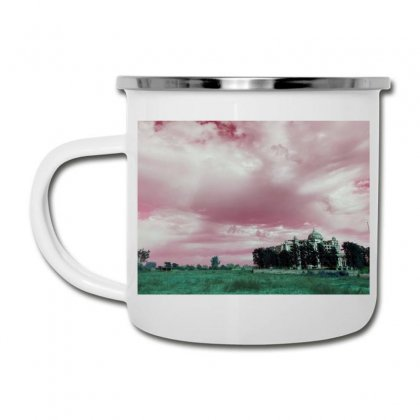 Pink Sky Camper Cup Designed By Ar.tist_creations
