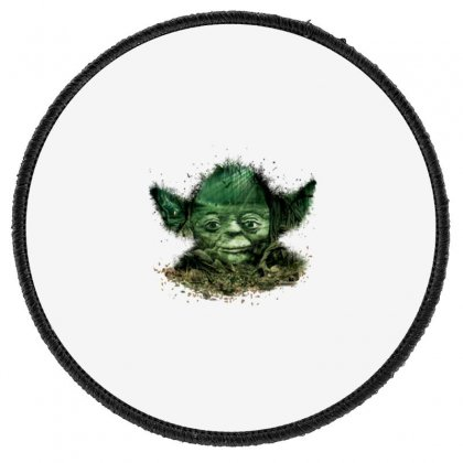 Baby Yoda 4 Round Patch Designed By Acoy