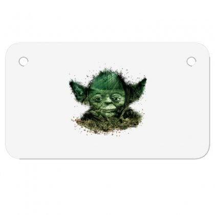 Baby Yoda 4 Motorcycle License Plate Designed By Acoy