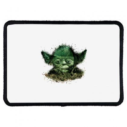 Baby Yoda 4 Rectangle Patch Designed By Acoy