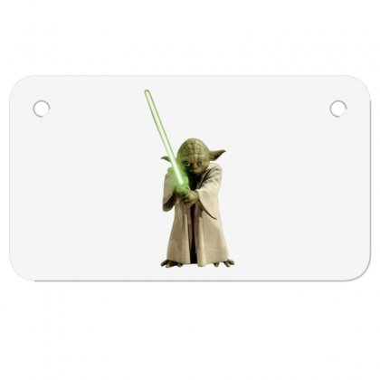 Baby Yoda 5 Motorcycle License Plate Designed By Acoy