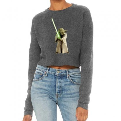 Baby Yoda 5 Cropped Sweater Designed By Acoy