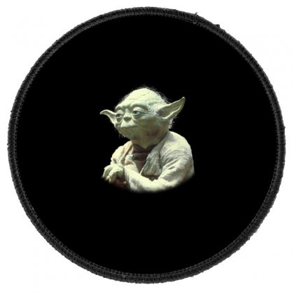 Baby Yoda7 Round Patch Designed By Acoy