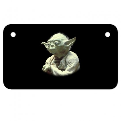 Baby Yoda7 Motorcycle License Plate Designed By Acoy
