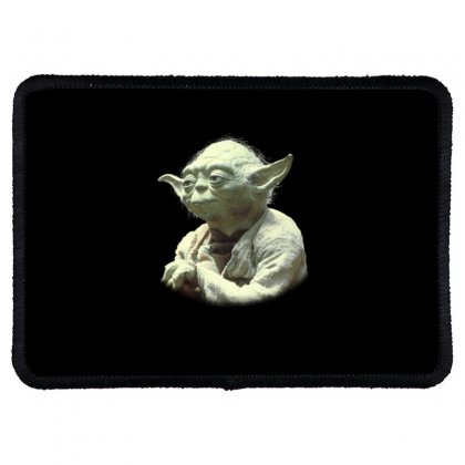 Baby Yoda7 Rectangle Patch Designed By Acoy