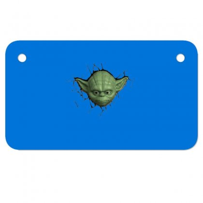 Beby Yoda 2 Motorcycle License Plate Designed By Acoy