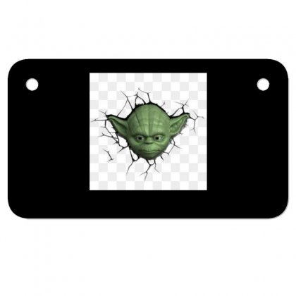 Beby Yoda 3 Motorcycle License Plate Designed By Acoy