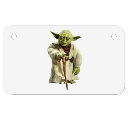 Beby Yoda 6 Motorcycle License Plate Designed By Acoy