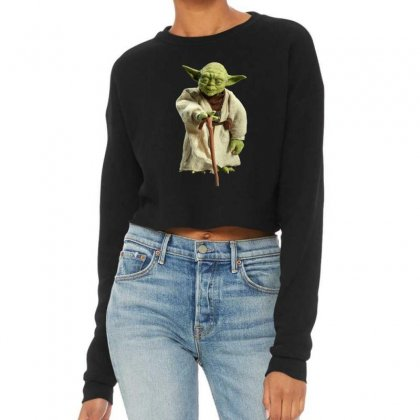 Beby Yoda 6 Cropped Sweater Designed By Acoy