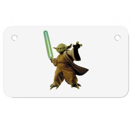 Beby Yoda Motorcycle License Plate Designed By Acoy