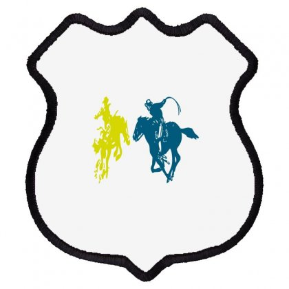 Cowboy Fight Shield Patch Designed By Acoy