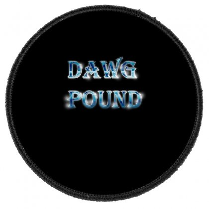 Dawg Paund Round Patch Designed By Acoy
