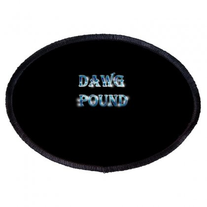 Dawg Paund Oval Patch Designed By Acoy