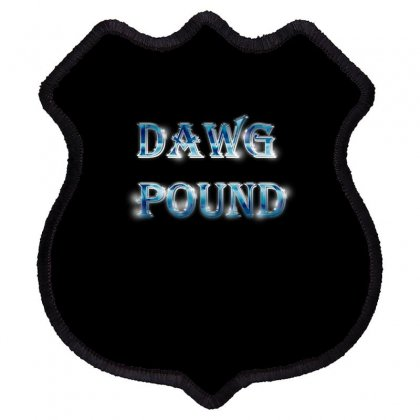 Dawg Paund Shield Patch Designed By Acoy