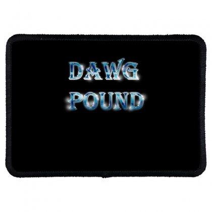 Dawg Paund Rectangle Patch Designed By Acoy