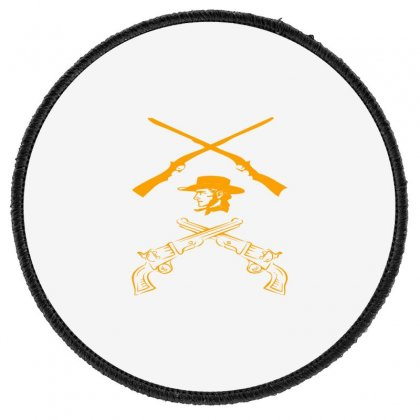 Deadly Weapon Round Patch Designed By Acoy