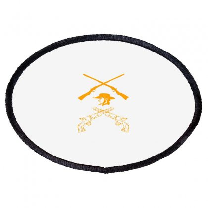 Deadly Weapon Oval Patch Designed By Acoy