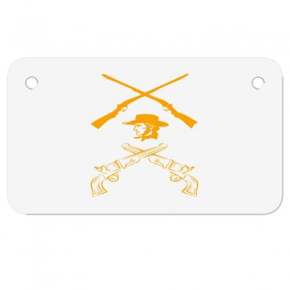 Deadly Weapon Motorcycle License Plate Designed By Acoy