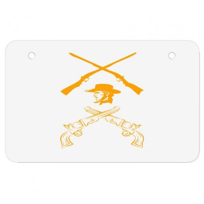 Deadly Weapon Atv License Plate Designed By Acoy