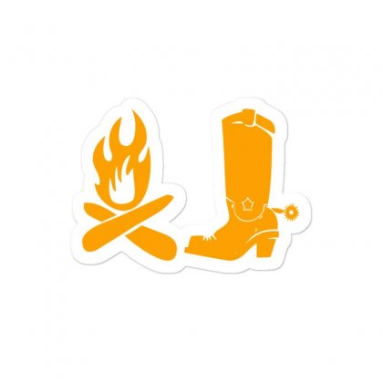 Shoes And Fire Sticker Designed By Acoy