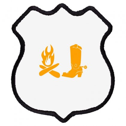 Shoes And Fire Shield Patch Designed By Acoy
