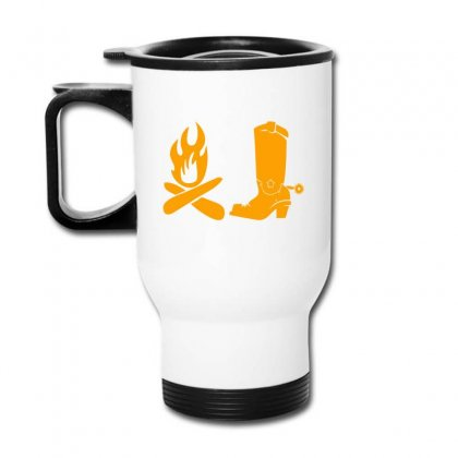 Shoes And Fire Travel Mug Designed By Acoy