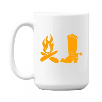 Shoes And Fire 15 Oz Coffe Mug Designed By Acoy