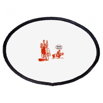 This Is Love That Doesn't End Well Oval Patch Designed By Acoy