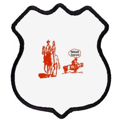 This Is Love That Doesn't End Well Shield Patch Designed By Acoy