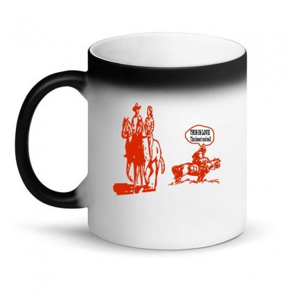 This Is Love That Doesn't End Well Magic Mug Designed By Acoy