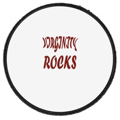 Virginity Rock 6 Round Patch Designed By Acoy