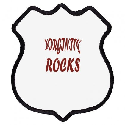 Virginity Rock 6 Shield Patch Designed By Acoy