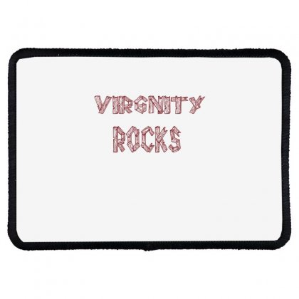 Virgnity Rocks Rectangle Patch Designed By Acoy