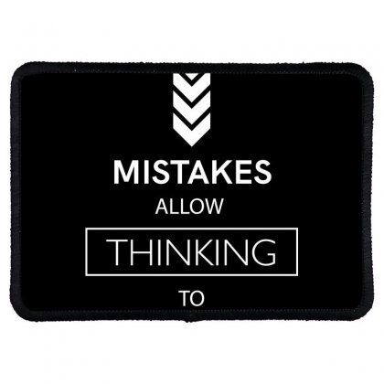 Mistakes Rectangle Patch Designed By Miss.illustration