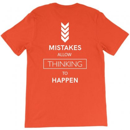 Mistakes T-shirt Designed By Miss.illustration