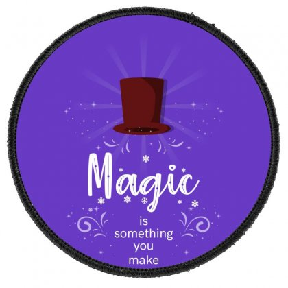Magic Round Patch Designed By Miss.illustration