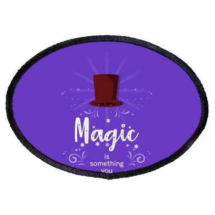 Magic Oval Patch Designed By Miss.illustration