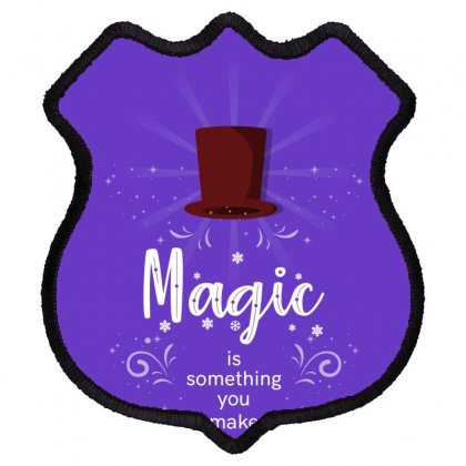 Magic Shield Patch Designed By Miss.illustration