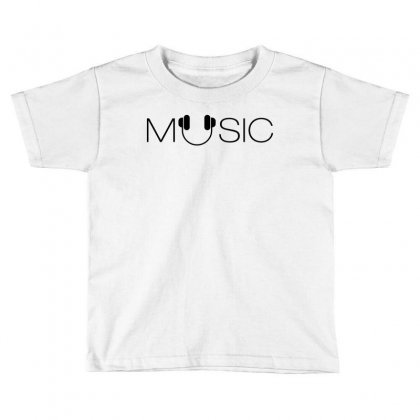 Music Soud Melody Toddler T-shirt Designed By Designisfun