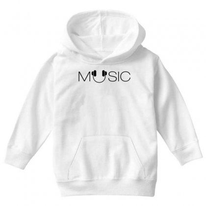 Music Soud Melody Youth Hoodie Designed By Designisfun