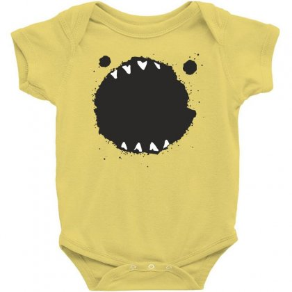 Mouth Monster Horror Baby Bodysuit Designed By Designisfun
