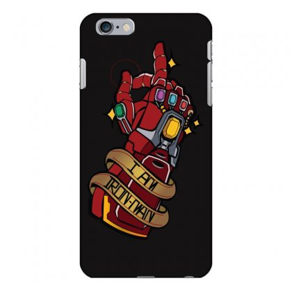 I Am Ironman Iphone 6 Plus/6s Plus Case Designed By Harshita