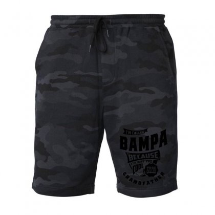Mens Happiness Is Being A Grandpap Grandpa Gift Fleece Short Designed By Cidolopez