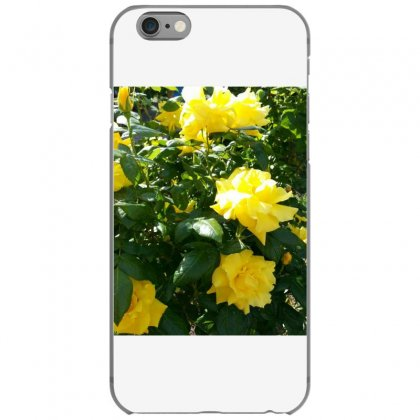 Yellow Roses In A Bush Iphone 6/6s Case Designed By Thoughtcloud